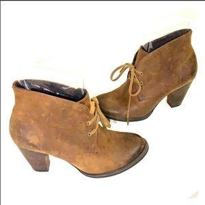 ÍNDIGO By Clark's Brown Ankle High Boots Size 7.5